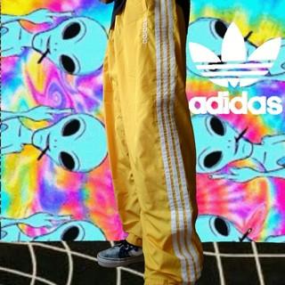 adidas - adidas 90s ナイロンパンツ トラックパンツ アディダス黄色 ストリート