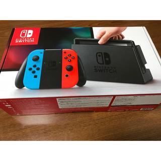 ニンテンドースイッチ(Nintendo Switch)の任天堂スイッチ 本体 中古(家庭用ゲーム本体)