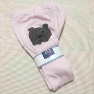 ベビーギャップ(babyGAP)のbabygap☆新品☆100☆着画あり♡くまさんタイツ(靴下/タイツ)