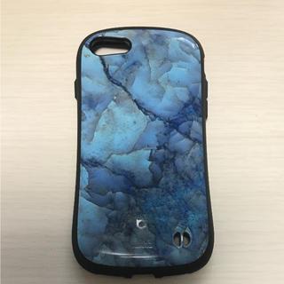 アイフォーン(iPhone)のiFace iPhone7 大理石 マーブル(iPhoneケース)