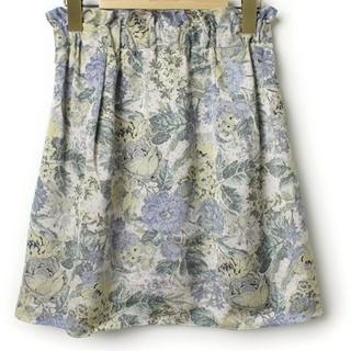 ジュエルチェンジズ(Jewel Changes)の花柄スカート(ミニスカート)