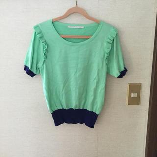 アクアガール(aquagirl)のaqua   girl 夏ニット (Tシャツ(半袖/袖なし))