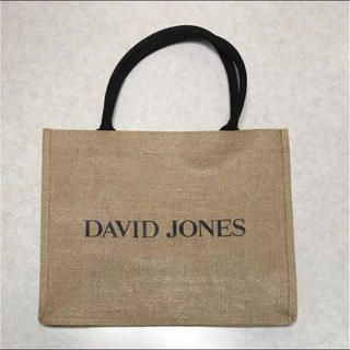 DAVID JONES ショッピングバッグ(エコバッグ)