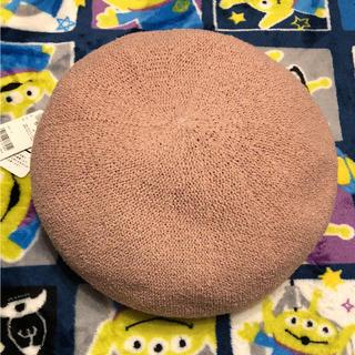 ピンクベレー帽♪(ハンチング/ベレー帽)