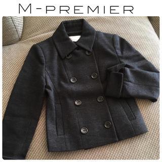 エムプルミエ(M-premier)のエムプルミエ ジャケット グレー(ピーコート)