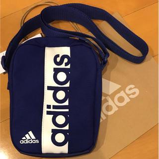 adidas - アディダスショルダーバッグ  ブルー