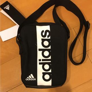 adidas - アディダスショルダーバッグ  ブラック