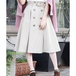 dazzlin - dazzlin トレンチミディスカート