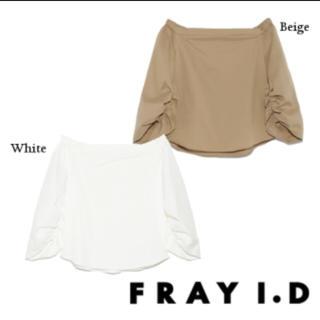 フレイアイディー(FRAY I.D)のフレイアイディー オフショルダーブラウス (シャツ/ブラウス(長袖/七分))