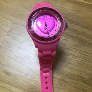 アイスウォッチ(ice watch)のICE WATCH ICE LOVE 中古 ピンク(腕時計)