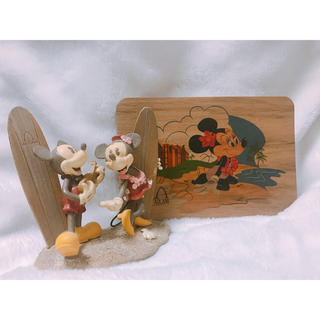 Disney - アウラニ ディズニー ミッキー ミニー オブジェ&ポストカード
