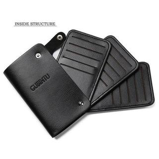 【Black】カード収納専用ケース 最大30枚を一括管理! ★GUBINTU