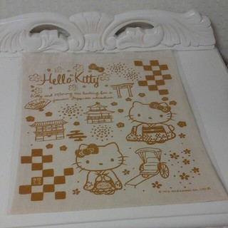 キティ サンリオ 京都店 非売品 エコバック 布袋 トートバック(エコバッグ)