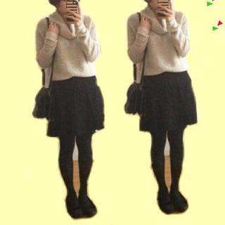 ニーナミュウ(Nina mew)のnina mew ウールスカート(ひざ丈スカート)