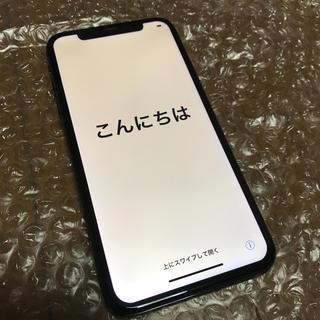 アイフォーン(iPhone)のiphone x 256ギガ スペースグレイ SIMフリー(スマートフォン本体)