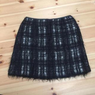 デプレ(DES PRES)の美品 トゥモローランド デプレチェック柄 スカート(ひざ丈スカート)
