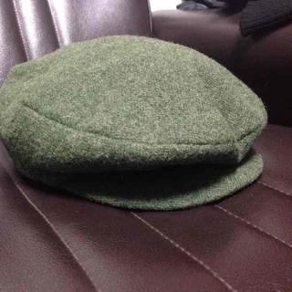 yohji yamamoto ヨウジヤマモト ハンチング グリーン(ハンチング/ベレー帽)