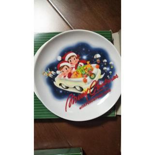 新品4枚 不二家ペコちゃん イヤープレート 1998 1999 各2枚組(食器)