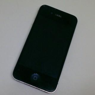 アイフォーン(iPhone)のiPhone4 Apple+SIMトレー 黒 ジャンクA1332 格安部品取(スマートフォン本体)