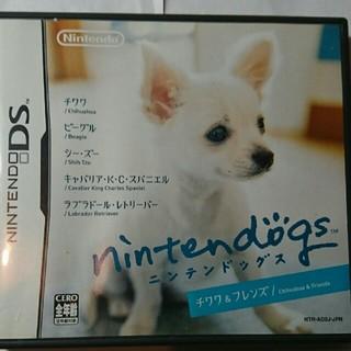 ニンテンドウ(任天堂)のDSソフト ニンテンドックスチワワ&フレンズ(携帯用ゲームソフト)