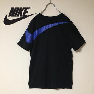 NIKE - NIKE  ビックスウォッシュ Tシャツ  ブラック×ネイビー