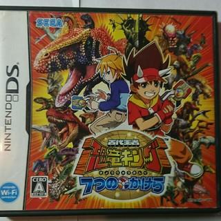 ニンテンドウ(任天堂)のDSソフト 古代王者恐竜キング(携帯用ゲームソフト)