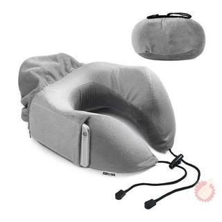 HomySnug ネックピロー U型枕 低反発ウレタン SGS認証済み(枕)