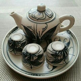 ベトナム ミニ茶器セット(食器)