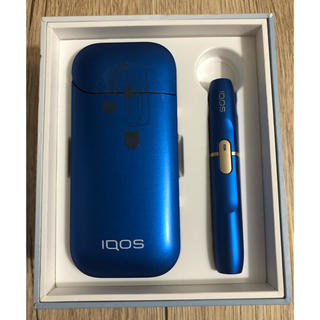 アイコス(IQOS)のiQOS2.4plus 国内正規品ブルー 限定品 今なら5%オフ(タバコグッズ)