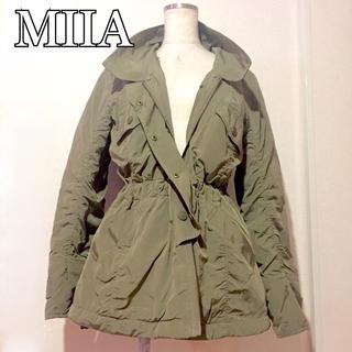 ミーア(MIIA)のMIIAミーア★2wayモッズコートジャケット MOUSSY系 美品(モッズコート)