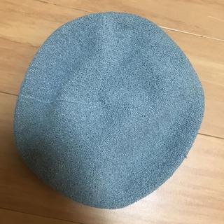 グローバルワーク(GLOBAL WORK)のグローバルワーク ベレー帽 グレー 新品 ローリズファーム好きな方(ハンチング/ベレー帽)