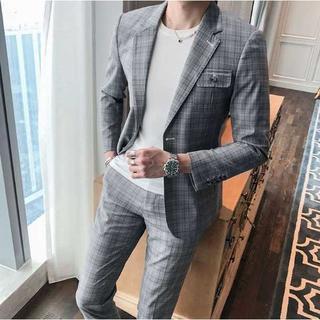 定番 メンズスーツ ビジネス 披露宴 zb479(セットアップ)
