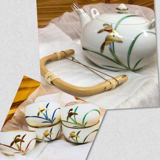 コウランシャ(香蘭社)の未使用 香蘭社 湯呑みセット 貴婦人(食器)
