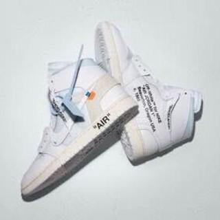 Nike AIR JORDAN OFF WHITE コラボ オフホワイ