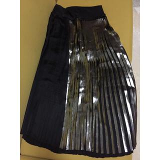 アルティザン(ARTISAN)のARTISAN メタルパネルマキシプリーツスカート(ロングスカート)