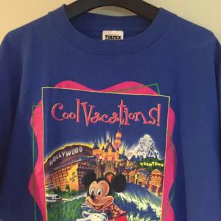 Disney - ウォルトディズニー 90s ミッキー ビッグTシャツ