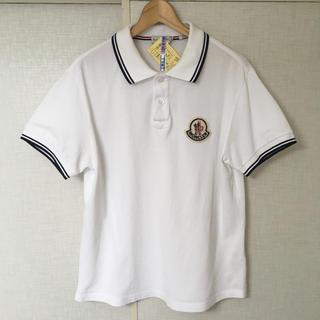モンクレール(MONCLER)のモンクレール ポロシャツ デカワッペン(ポロシャツ)