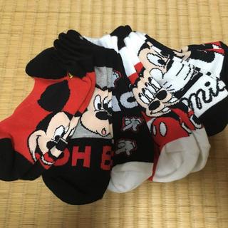 ミッキーマウス 靴下 6足セット(靴下/タイツ)