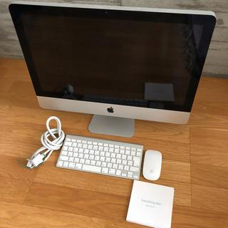 マック(Mac (Apple))のimac 2010(デスクトップ型PC)