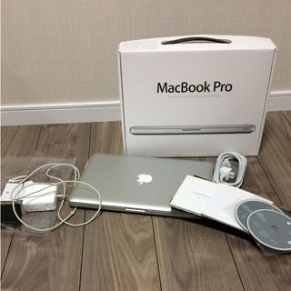 マック(Mac (Apple))のMacBook Pro 美品 13インチ ノートパソコン(ノートPC)