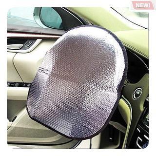 Big Ant ハンドルカバー 遮熱 ステアリングシェード(車内アクセサリ)