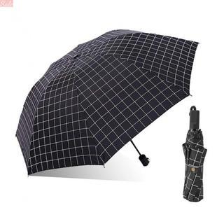 チェック柄 折りたたみ日傘 encologi UVカット 完全(日用品/生活雑貨)