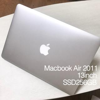 マック(Mac (Apple))のMacBook Air 2011 / 13inch SSD256GB(ノートPC)