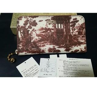 bc4e7ceb4298 アンダーカバー(UNDERCOVER)の美品 陶器柄 長財布 ラウンドジッパー アンダーカバー