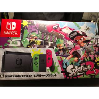 ニンテンドースイッチ(Nintendo Switch)のNintendo Switch スプラトゥーン2セット 中古(家庭用ゲーム本体)