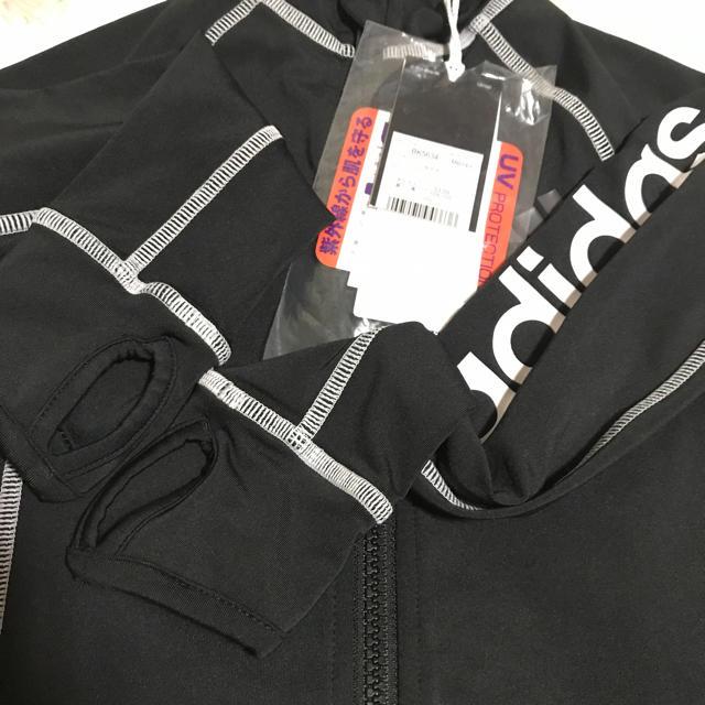 adidas(アディダス)のアディダス ラッシュガード ✰ 110   キッズ/ベビー/マタニティのキッズ服 男の子用(90cm~)(水着)の商品写真