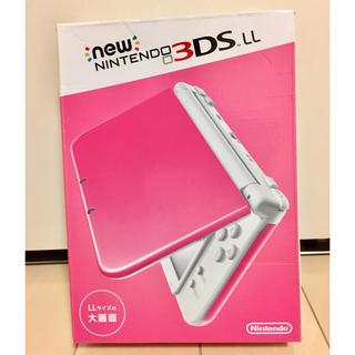 ニンテンドウ(任天堂)のNewニンテンドー3DS LL[RED-001]ピンク(携帯用ゲーム本体)