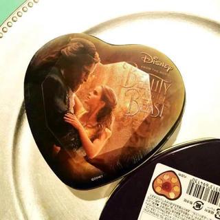 ディズニー(Disney)の美女と野獣 ❤︎   ♡ジュエルチョコレート缶(小物入れ)