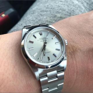 ロレックス(ROLEX)のロレックス エアキング 14000M 美品 05年式 確実正規 送料無料(腕時計(アナログ))
