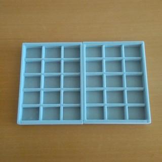ムジルシリョウヒン(MUJI (無印良品))の無印ベロア仕切り2個セット(ケース/ボックス)